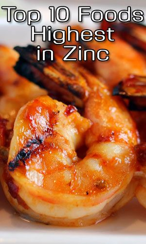 Top 10 Foods Highest in Zinc http://fitering.com/foods-highest-in-zinc/