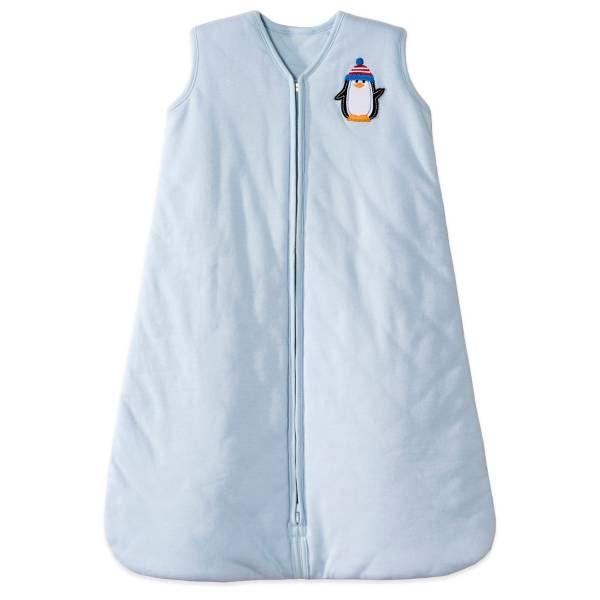 HALO® SleepSack® Winter Weight Wearable Blanket in Blue Penguin, medium, 2.5 TOG value