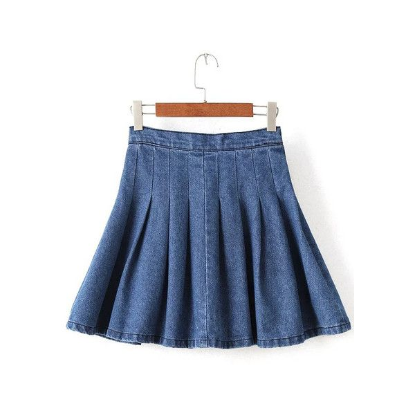 17 best ideas about high waisted denim skirt on