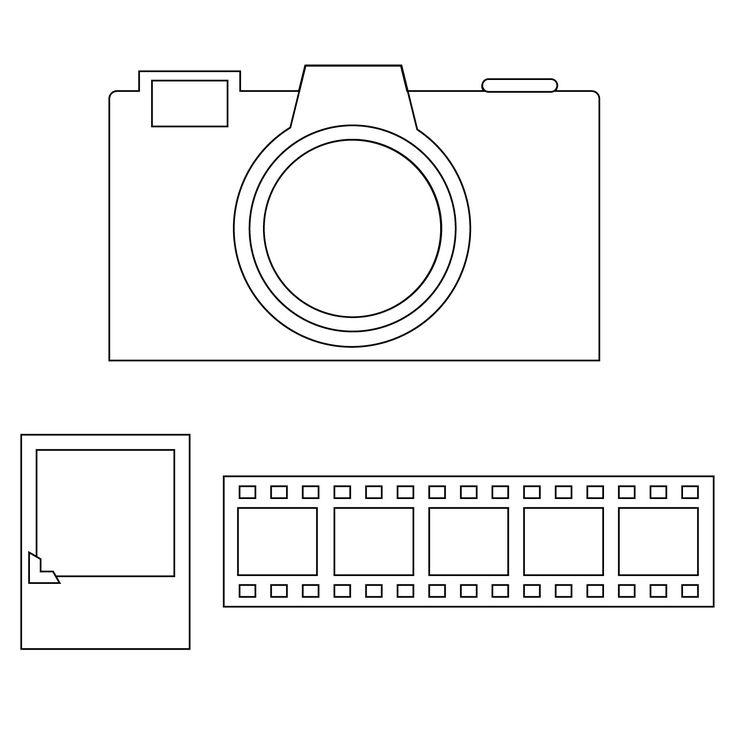 Album-Camera Steel-Rule Die | AccuCut Craft