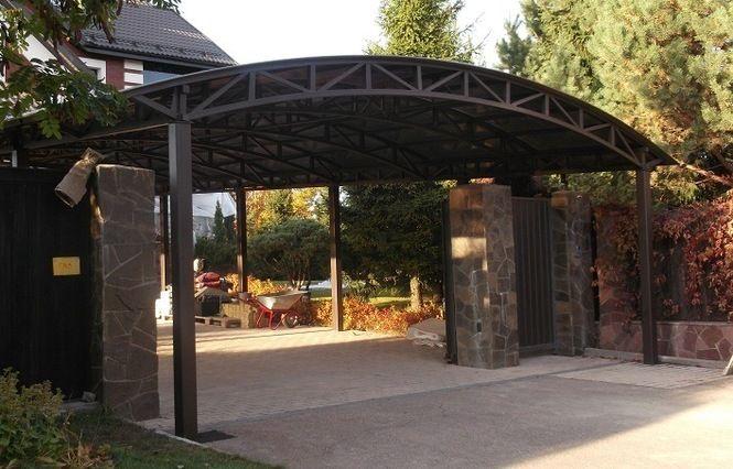 Навесы для автомобилей из поликарбоната Carport