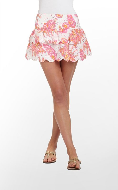 Cuddy skirt by Lilly Pulitzer in 'Conched Out'
