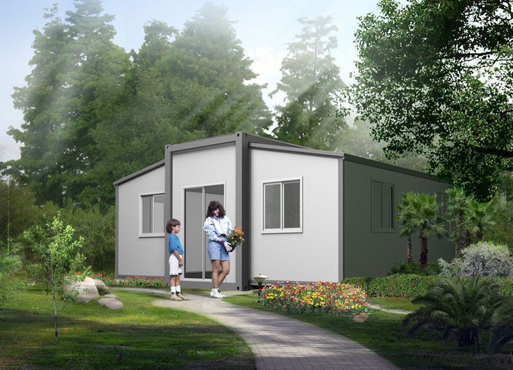 Granny Flat Expandable 2 bedroom Folding House - Design T10 by Anembo Homes
