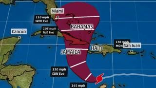 Hurricane Central - weather.com Matthew First Category 5 Hurricane since 2007. I am worried about the track of this monster!