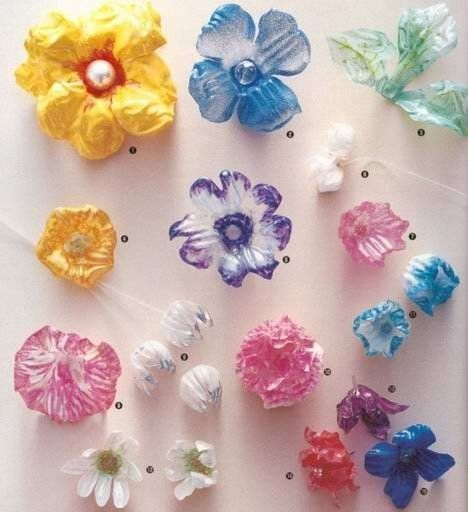 Recycle water bottles or other plastic bottles with crafts!