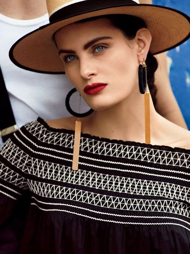 Изабели Фонтана в Glamour (Интернет-журнал ETODAY)