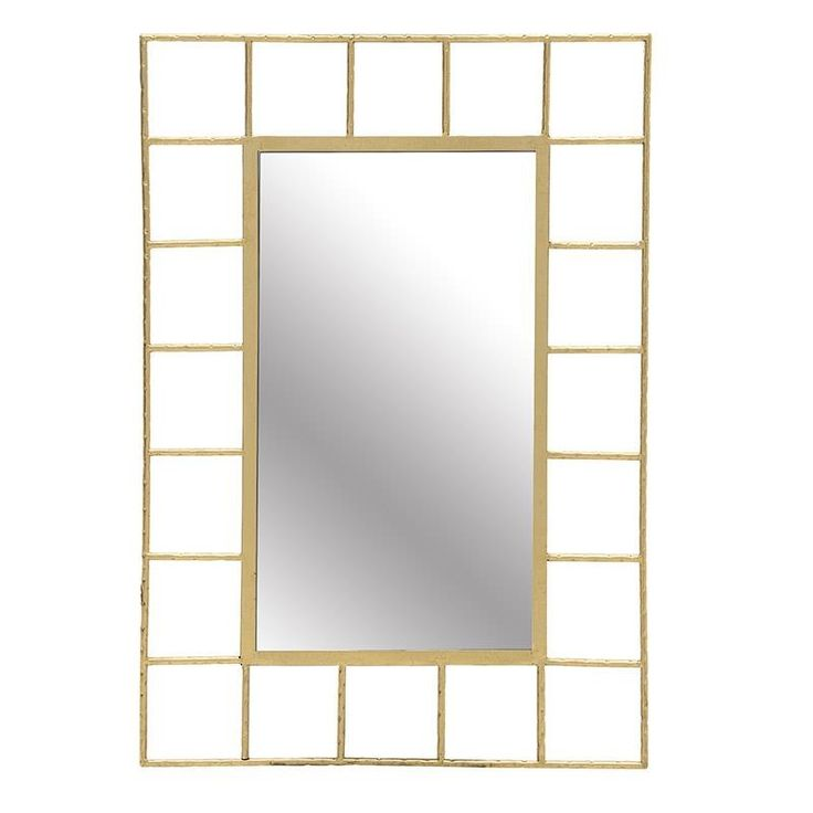 Metal Wall Mirror - Metallic m. - MIRRORS - inart
