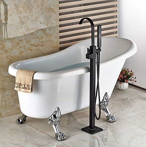 Modern Freestanding Bathtub Faucet Tub Filler Oil Rubbed