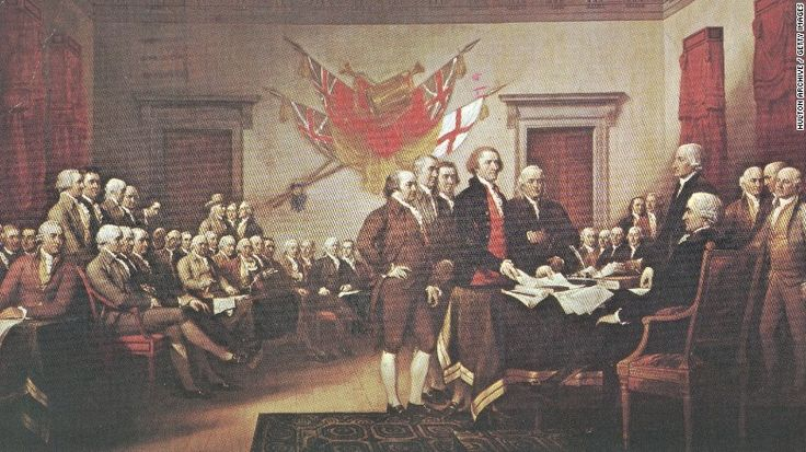 Happy Fourth of July from us to you! Celebrate with some interesting facts.     The Declaration of Independence: Six things you (probably) didn't know