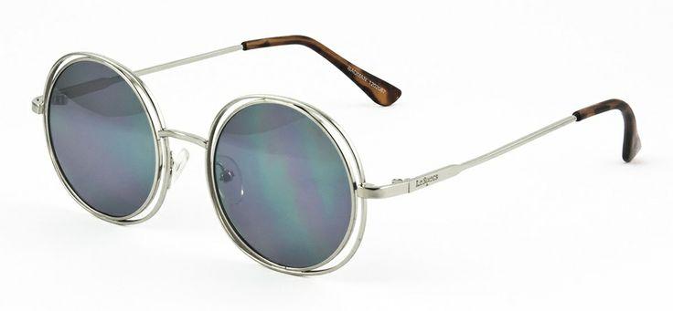 Le Specs LS Badman-silver 360 SEK #lespecs http://www.loveyewear.se/solglasogon/le-specs-ls-badman-silver-silver/