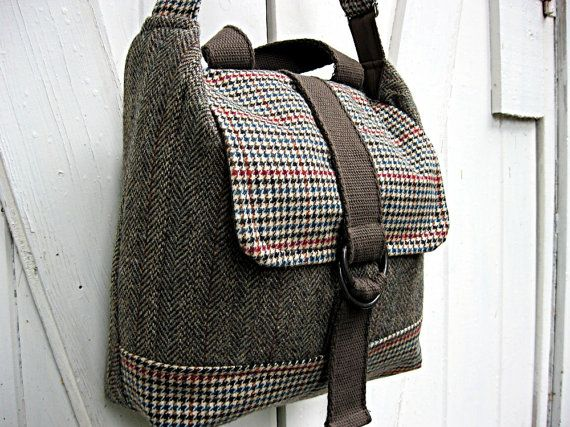 bag from coats / wonderful upcycle idea