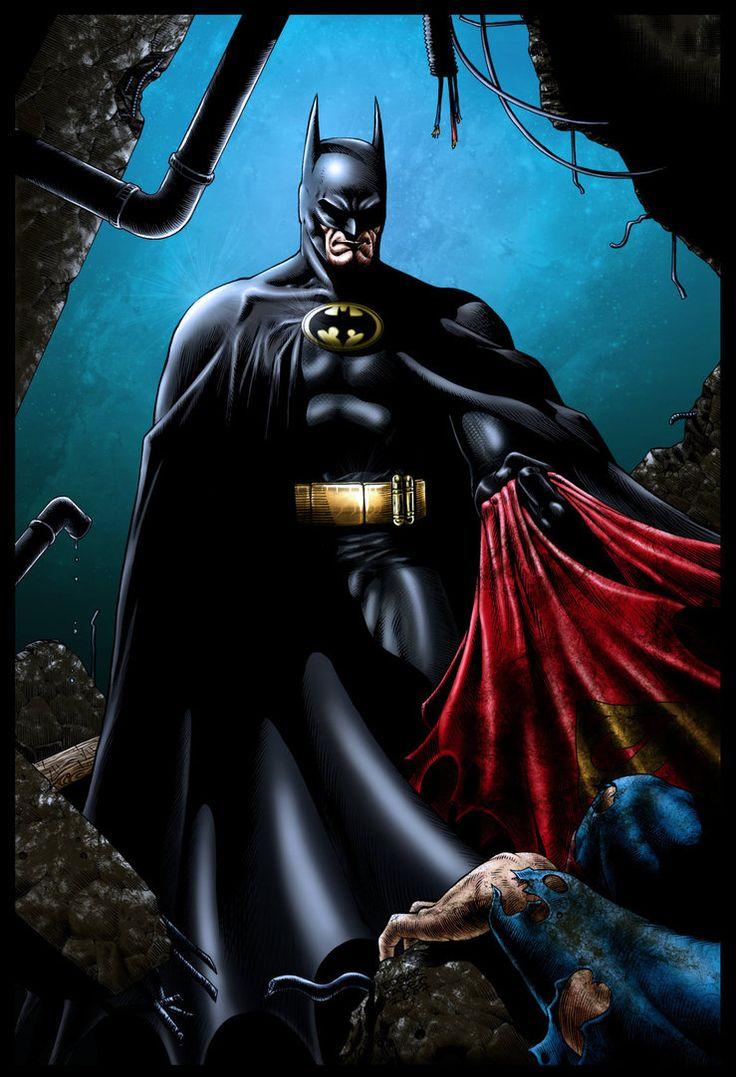 Batman vs Superman by CB-ComicArt