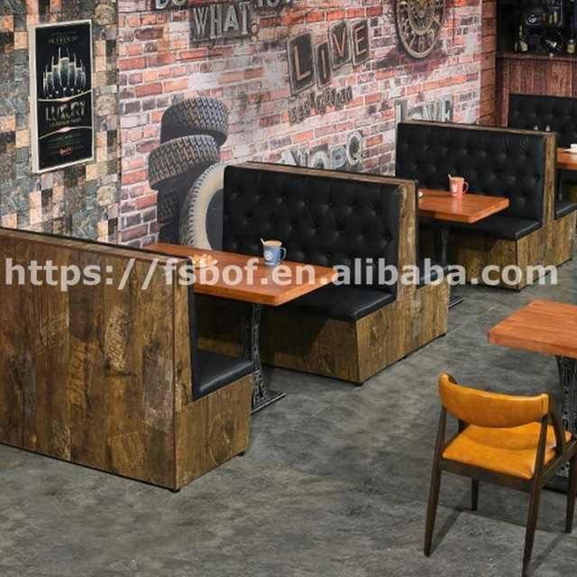 Source Used New Restaurant Booths Wholesale Cafe Furniture Leather