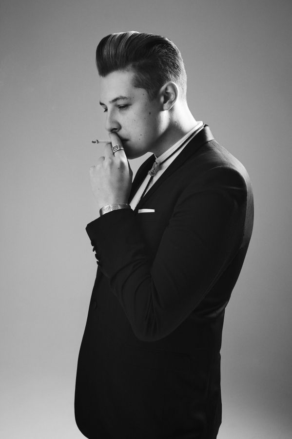 BRYAN ADAMS PHOTOGRAPHY John Newman / Untitled Magazine <-- I don't like that he smokes but I still love him!