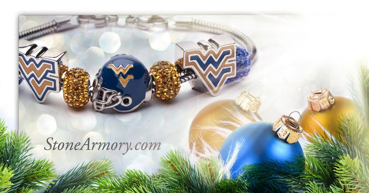 Stone Armory | West Virginia University jewelry. Perfect gift for WVU Mountaineers alumni, students and fans! Save 10% through 12/18/15. Enter: HolidayPin10
