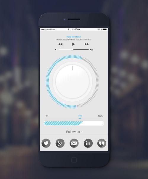 Mobile Apps with Circular Vibe Menus - 9 #circularvibe #mobileuidesign #uidesign #UIUX