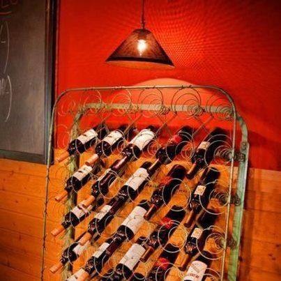 So if I drank wine I'd definitely use this as my wine rack just as a conversation piece