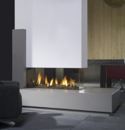 Best 25 See Through Fireplace Ideas On Pinterest Double