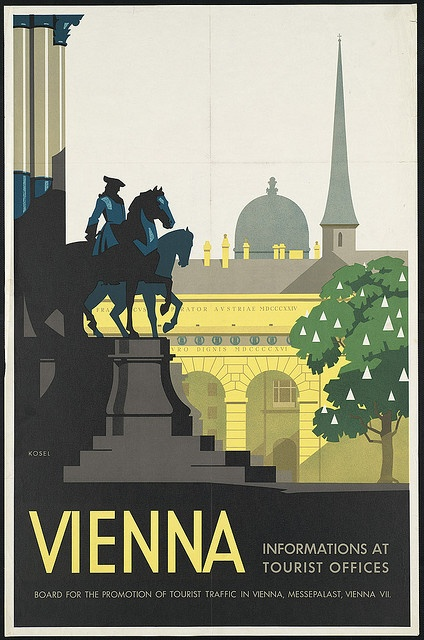 Title: Vienna    Date issued: 1910-1959 (approximate)    Physical description: 1 print (poster) : color