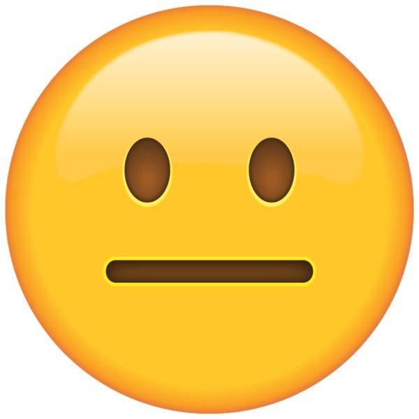 Neutral Face Emoji | Emoji images, Emoji, Emoji drawings