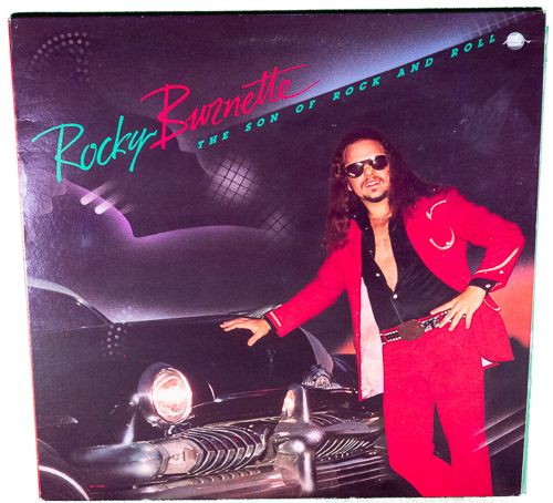 1980 LP - Rocky Burnette - The Son of Rock and Roll - Play-Rated as VG+ - $6.95