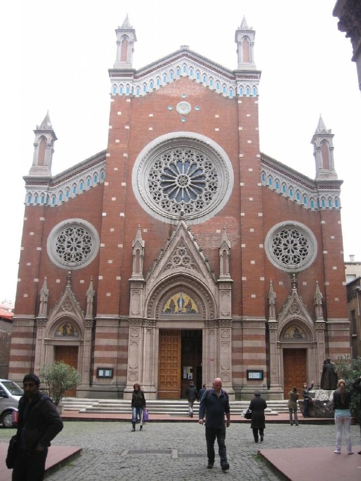 Saint Antuan Church of Istanbul