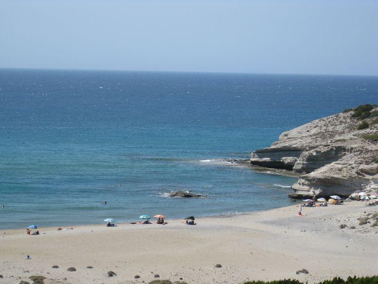 Triades beach at Mylos island - Greece