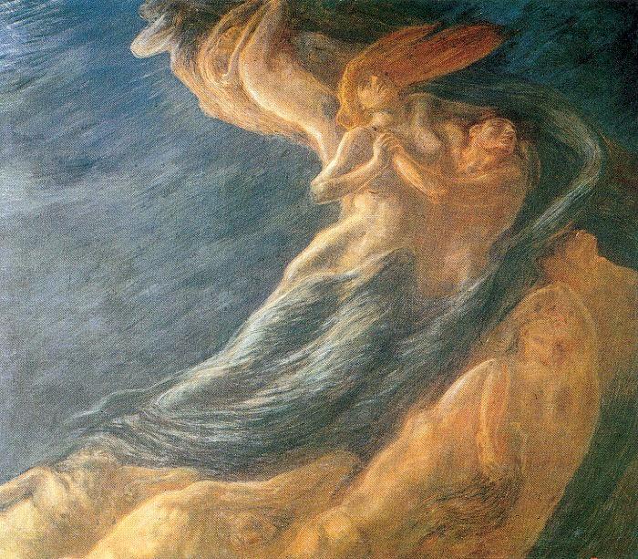 Gaetano Previati 1852-1920   Italian Symbolist painter