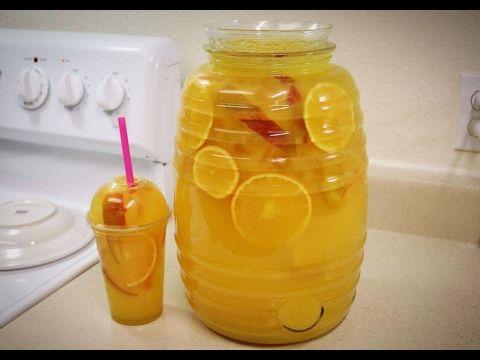 Agua Fresca de Naranja y Mango para Negocio - YouTube
