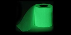 glow in the dark toilet paper. that can't be good all up in your business.