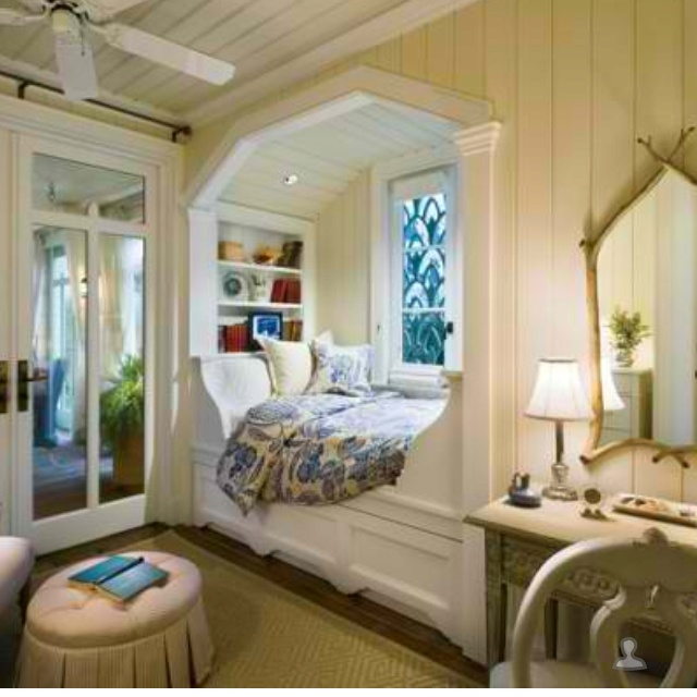 84 best ideas about our house on pinterest bed nook for Bunk beds built into the wall