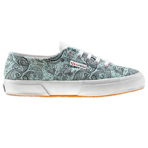 Shoe Superga cutomized Elegant Paisley