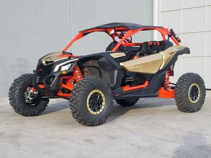 New 2017 Can-Am Maverick X3 X RS Turbo R Gold & Can-Am R ATVs For Sale in Arizona. 2017 Can-Am Maverick X3 X RS Turbo R Gold & Can-Am Red, 2017 Can-Am® Maverick X3 X RS Turbo R Gold & Can-Am Red BORN LEADER <p> This is the world's first factory 72-in wide side-by-side vehicle. With 24-in of suspension travel and advanced FOX Racing components, it stretches the X3 X rs abilities far beyond expectations for staggering performance anywhere.</p> Features may include: <ul> <li> 72-in width for…