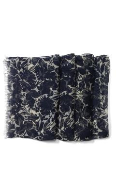 Kassia Silk Floral Scarf