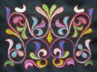 Один из образцов хакасского национального орнамента
