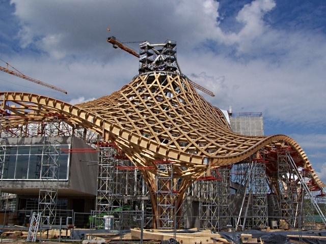Centre Pompidou-Metz / Une toiture exceptionnelle... - Vivre nos vies à Metz