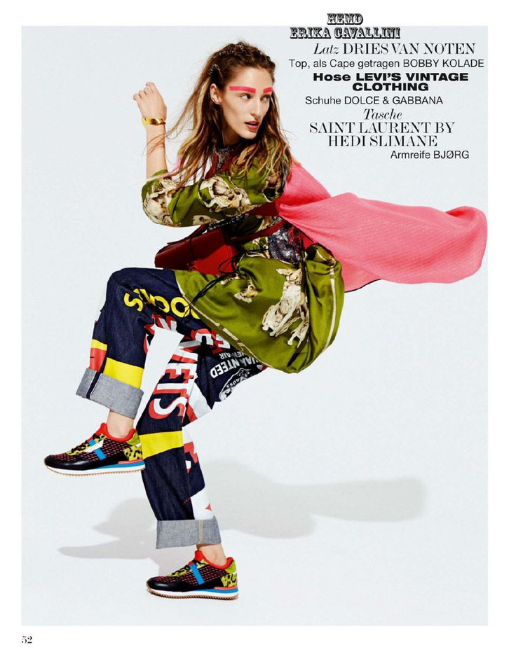 Franzi Müller by Mark Pillai for Interview Germany July 2014