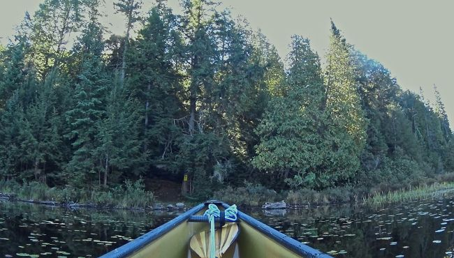 Portage from Delano to South Canisbay