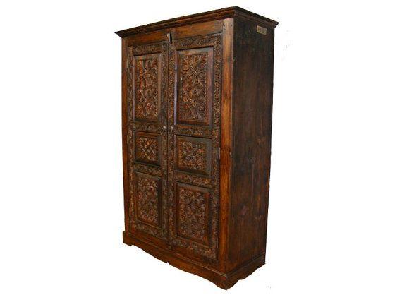 Luxury antik look orient Massivholz Schrank Kommode von KabulGallery