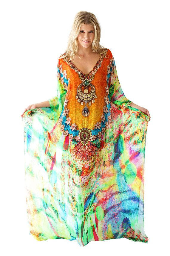 Hey, I found this really awesome Etsy listing at https://www.etsy.com/listing/232436365/kaftan-dress-100-viscose-georgette