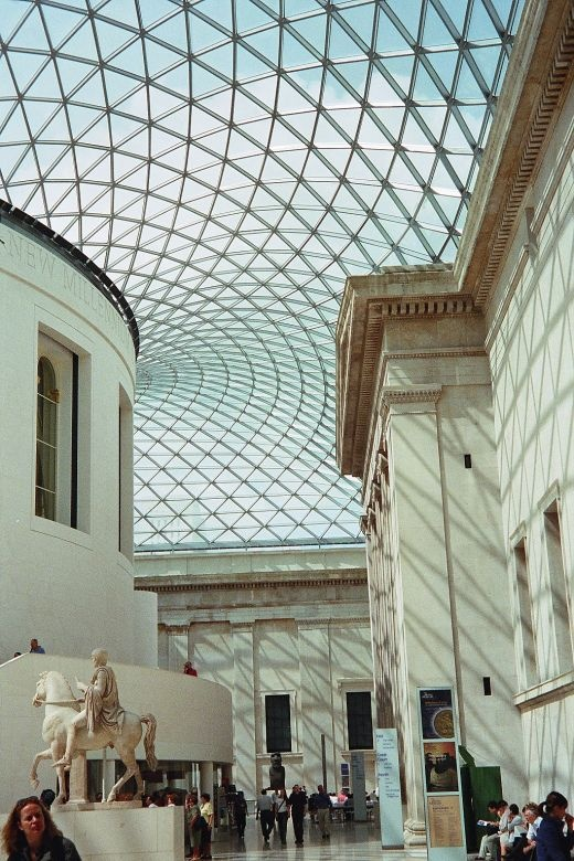 The Great Court at British Museum, Norman Foster