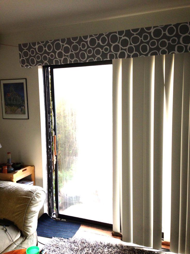 Vertical Blind Cornice Window Decor Amp Kool Rooms