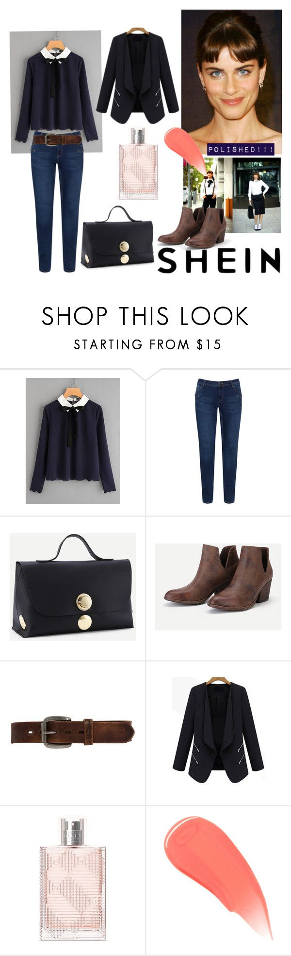 POLISHED PREP by paisleyvelvetandlace on Polyvore featuring Zizzi, Bed|Stü and Burberry