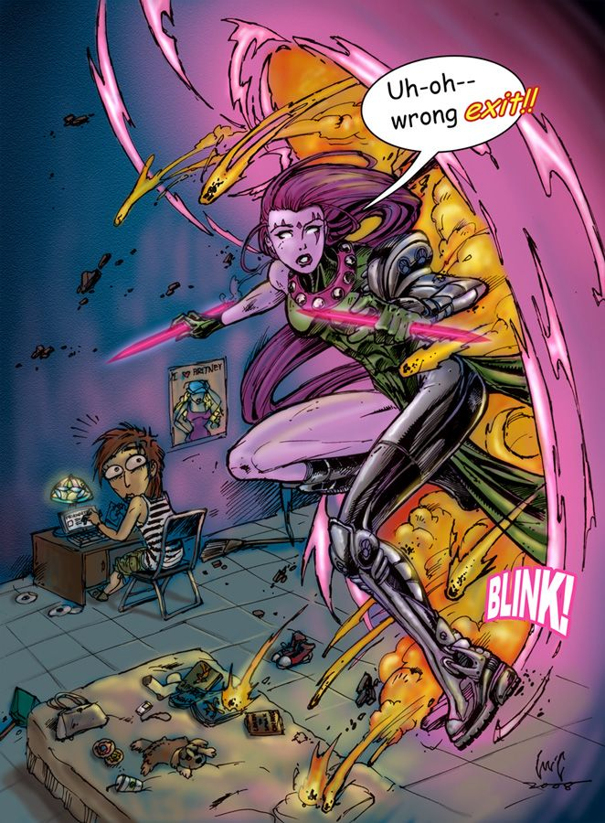 Blink from Age of Apocalypse by snoozzzzzz.deviantart.com on @deviantART