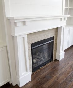 simple fireplaces - Google Search