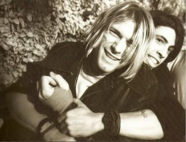 dave grohl and kurt cobain relationship