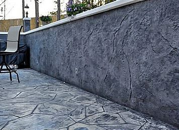 Little Rock Arkansas Stamped Concrete Surface Amp Wall