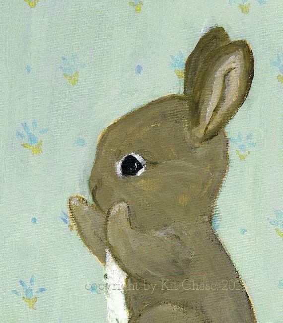 Happy Bunny Blue