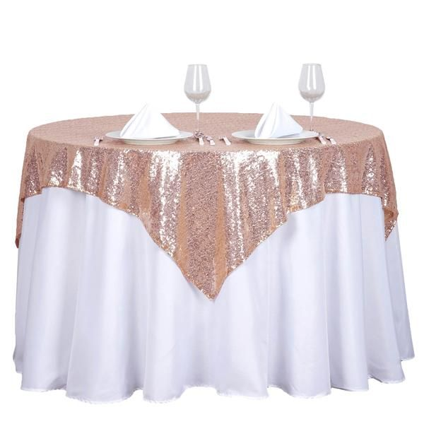 Sequin Line Tableclothsfactory Com Wedding Tablecloths Table