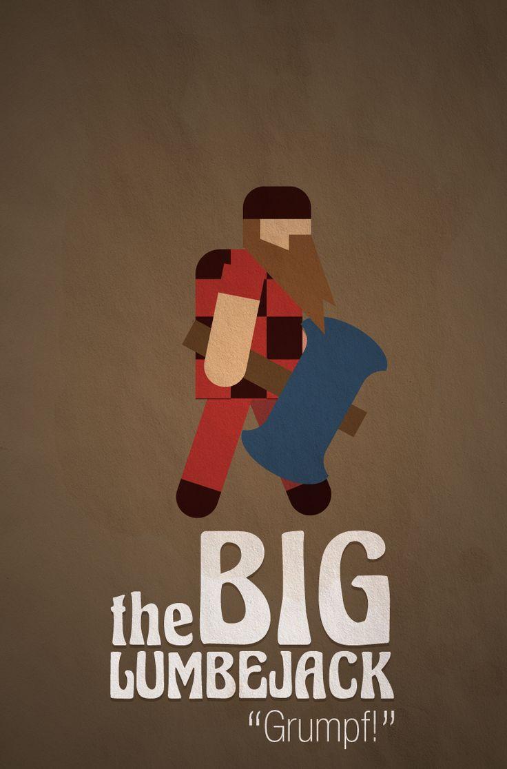 bud #Game Character — the Big Lumberjack  Play bud at : http://www.newgrounds.com/portal/view/565439